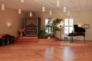 Fotos von den Tagungsräumen und dem Schützsaal